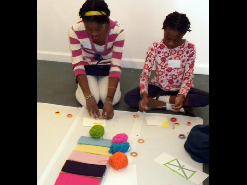 Make Children Children-art-making