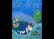 pinnuch-pinchinda-white-cat-and-the-colorful-fireworks-40x50cm-acrylic-on-canvas-2010