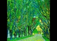 helena-lee-avenue-of-schloss-kammer-park-38x38cm-coloring-on-korean-paper-2010-copy-of-gustav-klimt-works