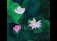 lotus-1-46x46cm-coloring-on-korean-paper-2010